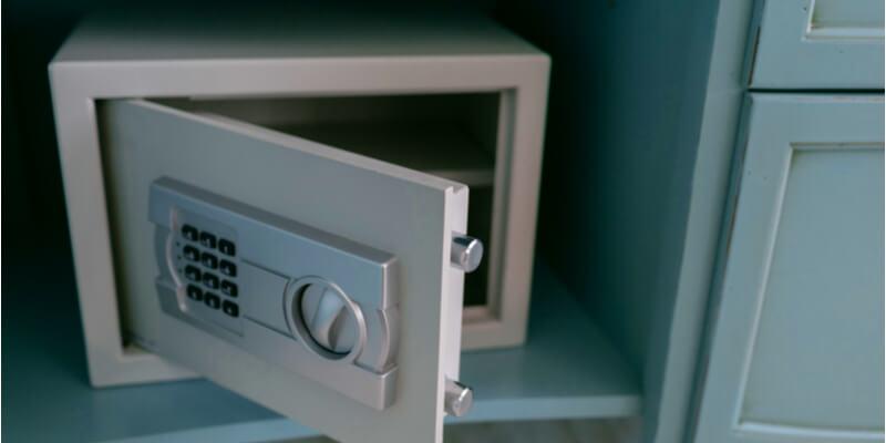 Opening Master Lock Box - Safes NYC