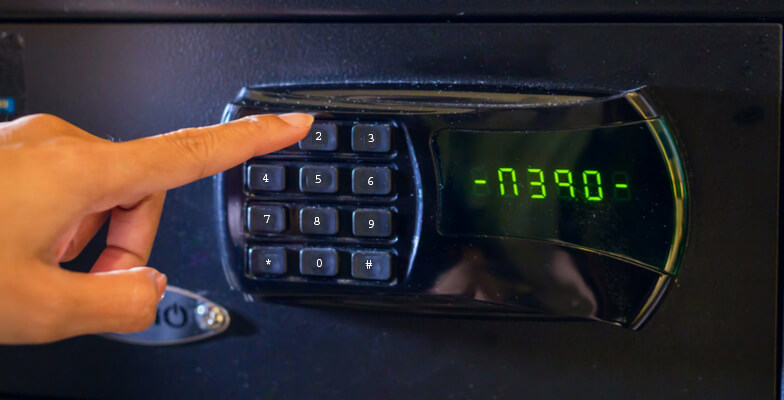 opening a combination safe - Safes NYC