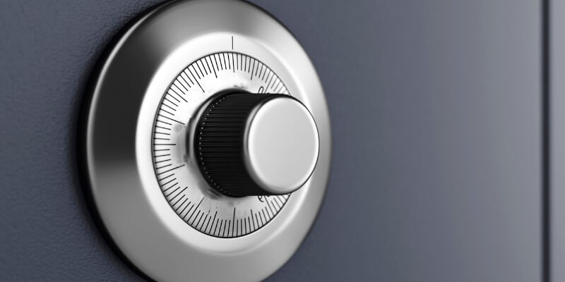 opening a sentry safe with combination - Safes NYC